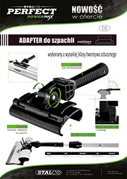 Stalco Perfect Powermax - adapter do szpachli