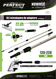Stalco Perfect Powermax - kij teleskopowy do adaptera Powermax
