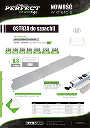 Stalco Perfect Powermax - ostrza wymienne do szpachli