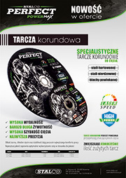 Stalco Perfect Powermax - tarcze do cięcia metalu