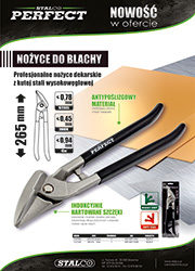 Nożyce do blachy Stalco Perfect 265mm