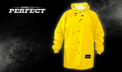 Kurtka przeciwdeszczowa - żółta