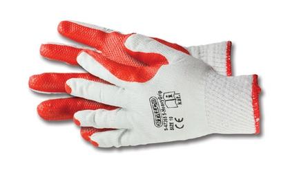 Rękawice bawełniane powlekane lateksem S-HeavyGrip