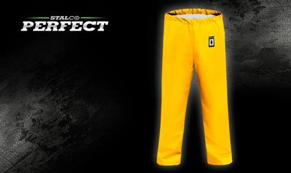 Spodnie przeciwdeszczowe - żółte